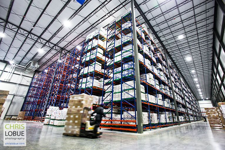 Industrial Cold Storage Construction and Refrigerated Warehouse - Chris Lo Bue Photography