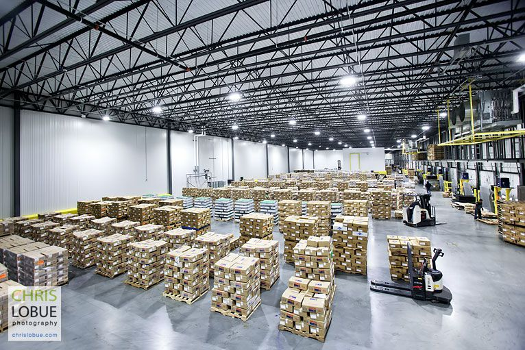 food warehouse logistics - Chris Lo Bue Industrial Photography