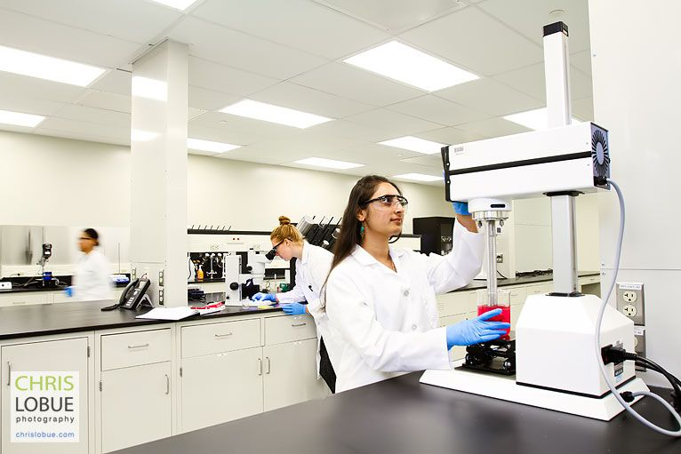 PA - NJ medical research lab image  - Chris Lo Bue Commercial Photography