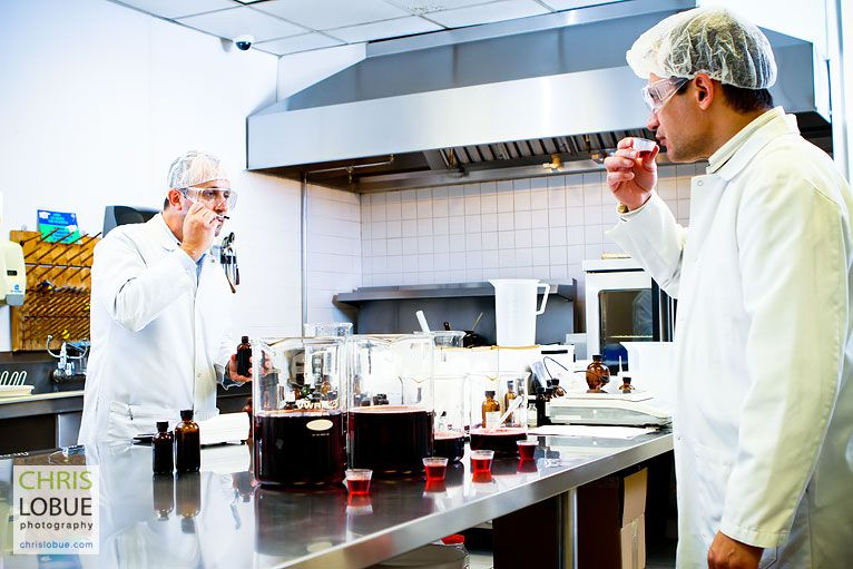 NJ flavor laboratory image - Chris Lo Bue Commercial Photography