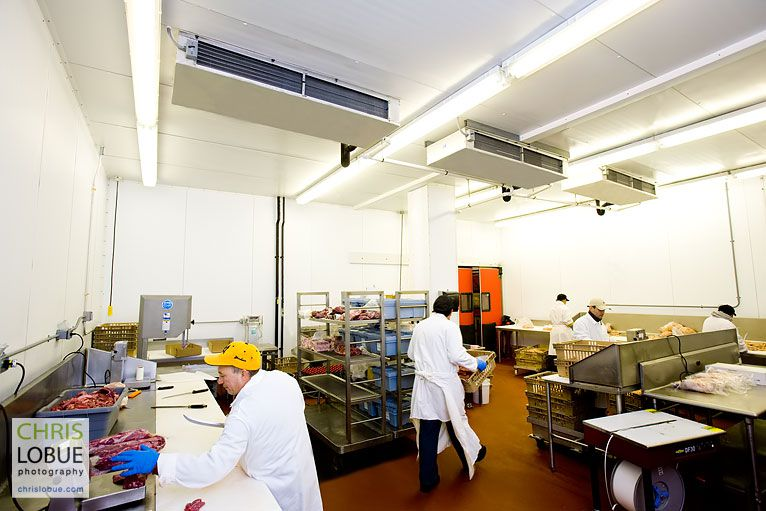New Jersey meat processing facility - Chris Lo Bue Commercial Photography