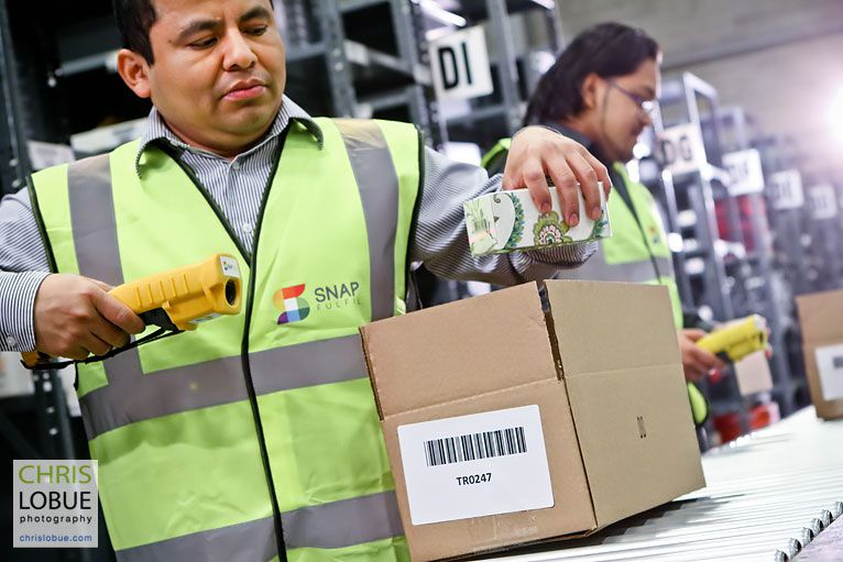 ecommerce fulfillment warehouse image - Chris Lo Bue Commercial Photography