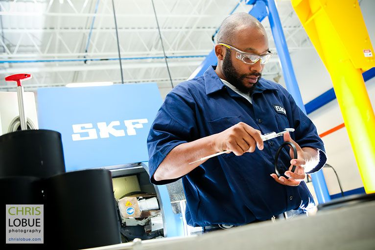 SKF Solution Factory in Birmingham, Alabama - Chris Lo Bue Commercial Photography