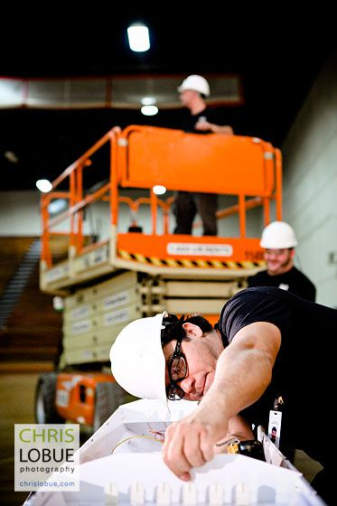 NJ commercial electrical work image - Chris Lo Bue Commercial Photography