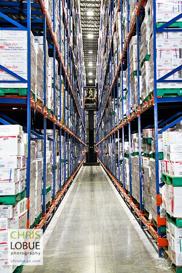 Amazon Fulfillment Warehouse - Chris Lo Bue Commercial Photography
