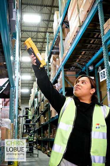 NJ - PA order picker - warehouse images - Chris Lo Bue Commercial Photography