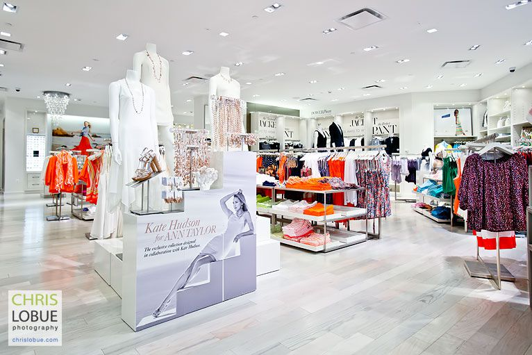 Interior Photography Retail - Ann Taylor store New Jersey - Chris Lo Bue Photography