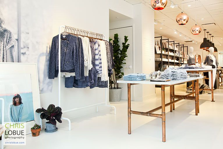 Retail Store Interior Photography - Lou & Grey store CT  - Chris Lo Bue Photography