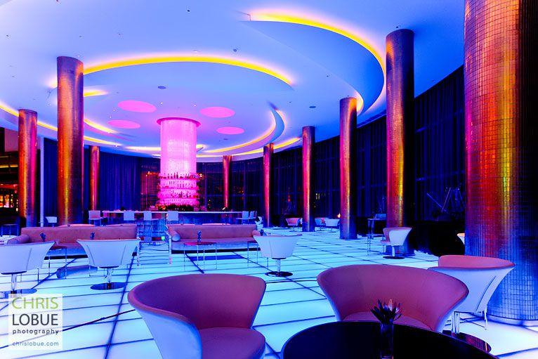 Interior architectural photography - Lobby of the Fontainebleau Miami Beach - Chris Lo Bue Photography
