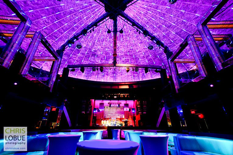 Interior architectural photography - Club Liv Fontainebleau Miami Beach - Chris Lo Bue Photography