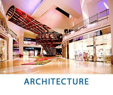 Dramatic Architectural Photography - Las Vegas Aria