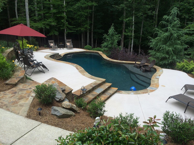 Cumming Georgia Inground Swimming Pool