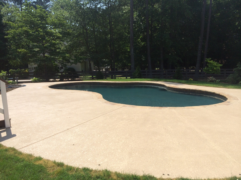 Inground Swimming Pool Roswell