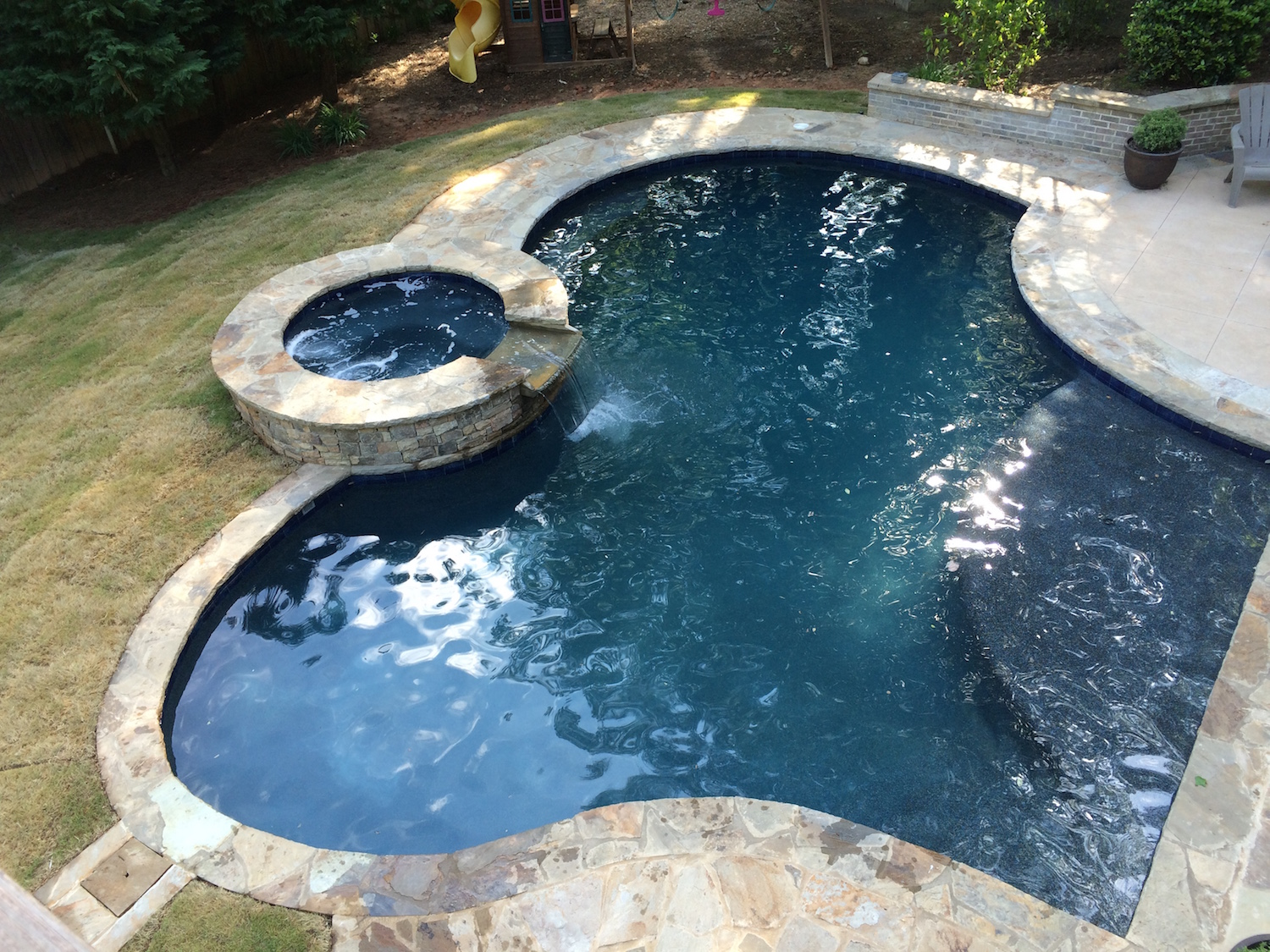 Inground Swimming Pool Builder Dunwoody