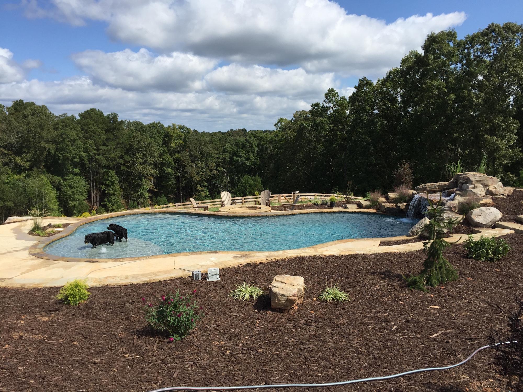 Inground Swimming Pool Canton Georgia
