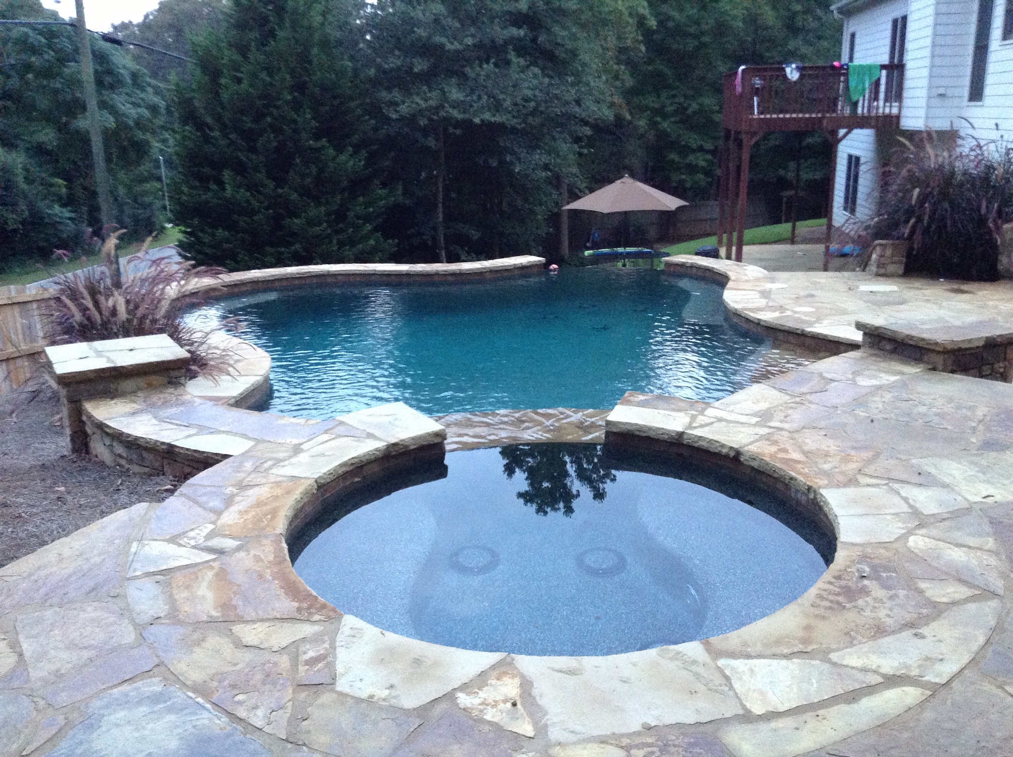 Flowery Branch Inground Swimming Pool And Spa