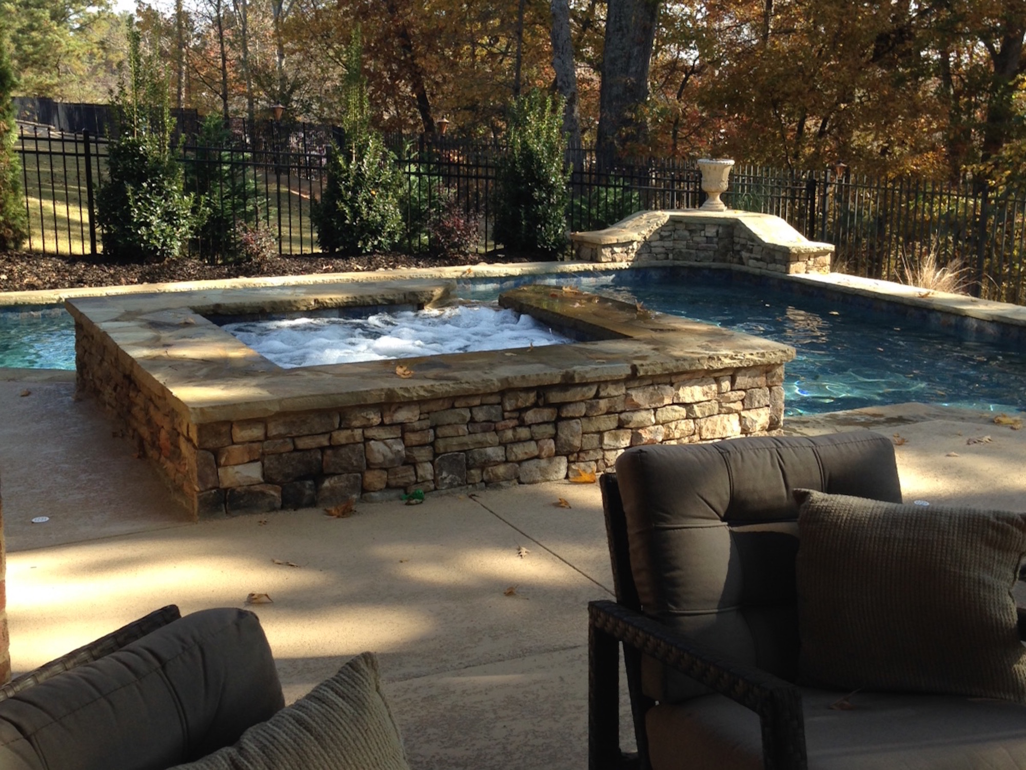 Buford Inground Swimming Pool And Spa