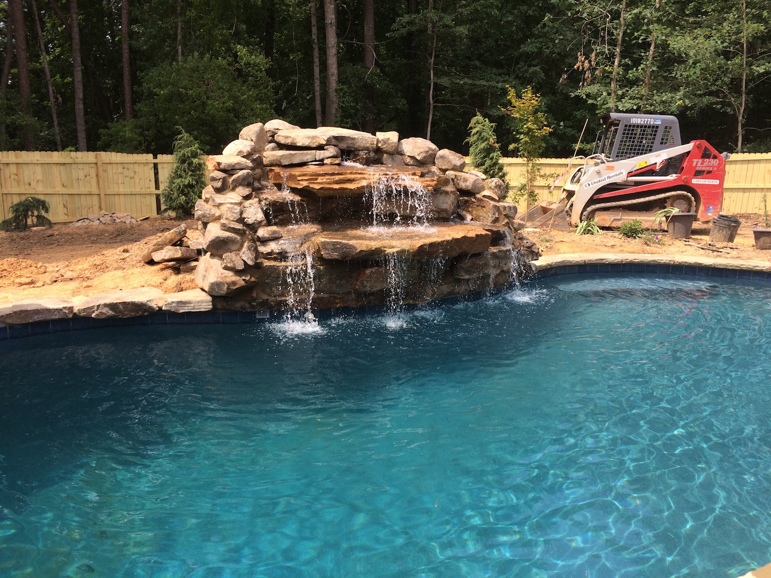 Custom Waterfall Dacula Georgia