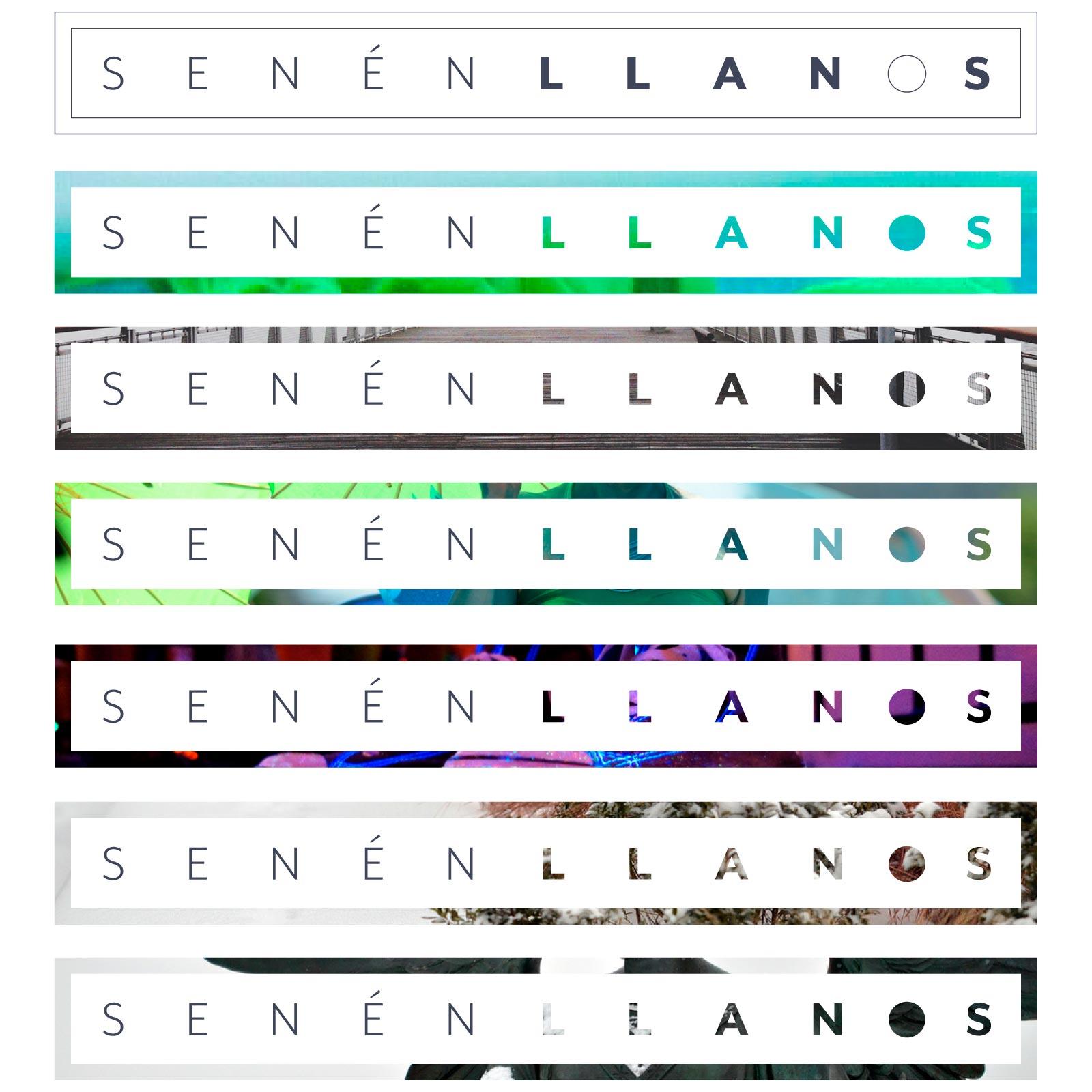 senén llanos logo variations