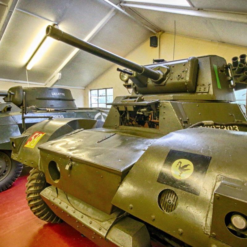 Daimler Mk 1 armoured car @ The Muckleburgh Collection Nr25 7EG