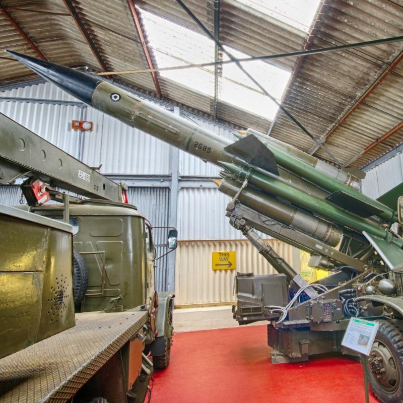 Bristol Bloodhound Missile @ The Muckleburgh Collection NR25 7EG