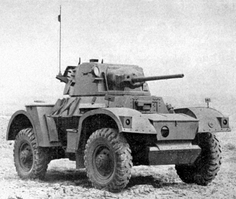 Daimler Mk1 Armoured Car vintage photo
