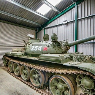 Russian T-55 Heavy Tank @ The Muckleburgh Collection NR25 7EG