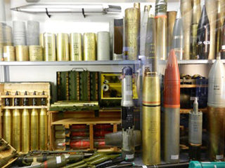 Ammunition@ The Muckleburgh Collection NR25 7EG