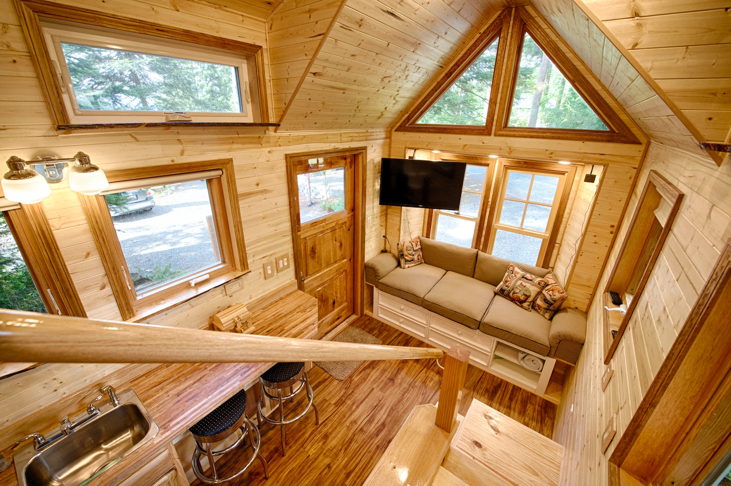 tiny house on wheels features tour