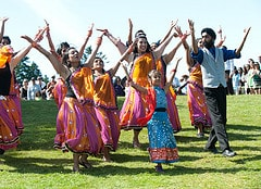 Indian dance workshops for schools