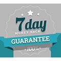 Photo of 7 day money back guarantee