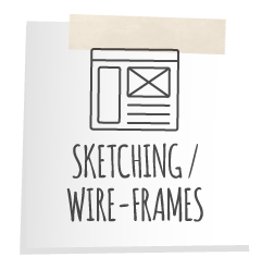 Sketching and Wireframes