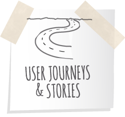 User Journeys and Stories