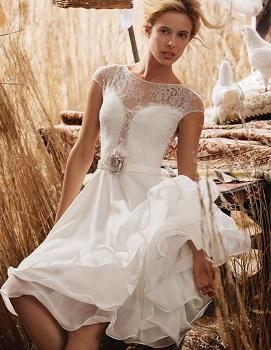 Olvis lace wedding dress