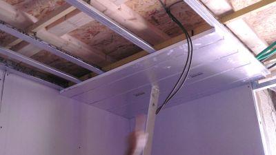 Plafond chauffant sec mince Caleosol