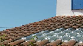 Tuile solaire pour plancher chauffant sec mince Caleosol
