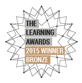 Learning Awards 2015 Bronze Logo
