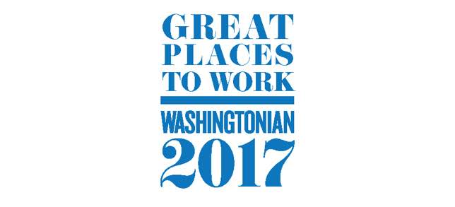 Great Places to Work Washingtonian 2017