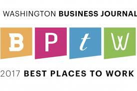 Washington Business Journal Best Places To Work 2017