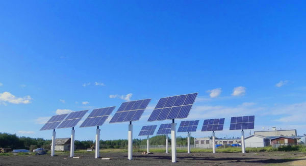 Lubicon Cree First Nation Solar Panels