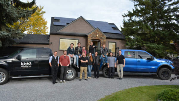 Web 3 Solar Panels Edmonton