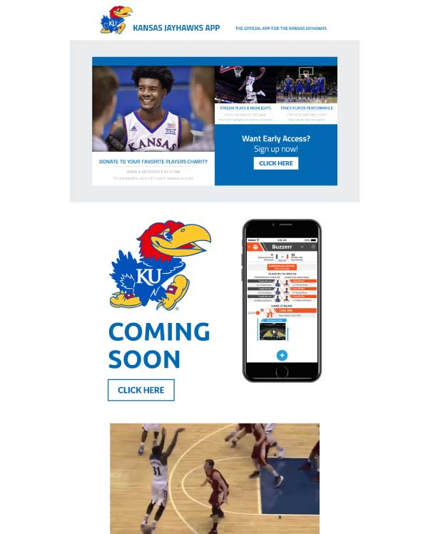 Kansas City Jayhawks Screenshot