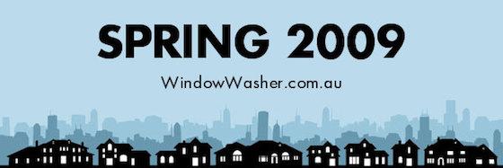 Spring 2009 - window washer