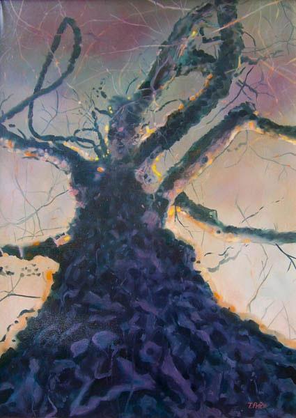 Poplar Queen oil painting image