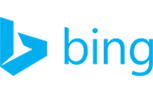 Bing logo blue