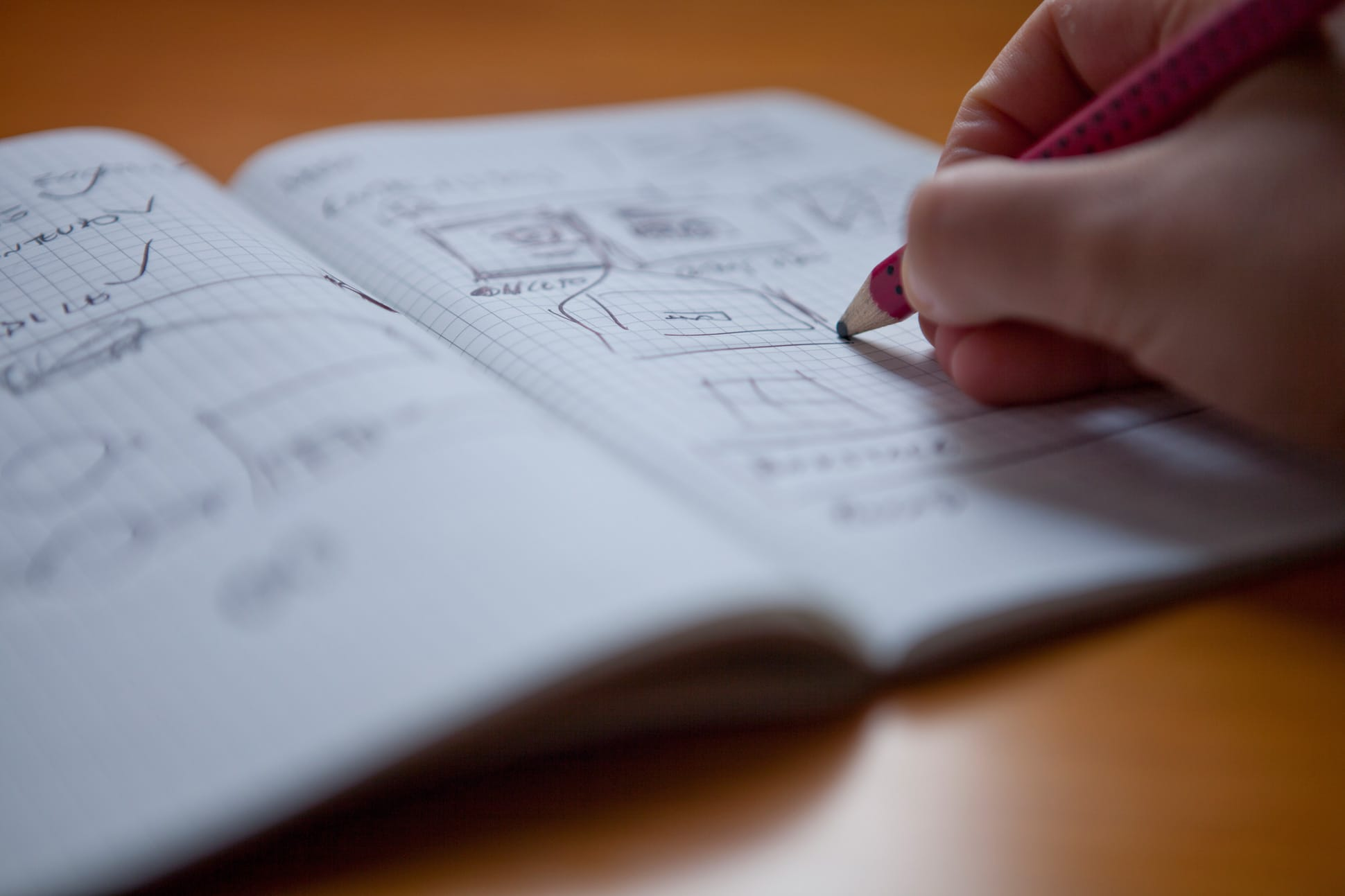 Processos de criação  desenho