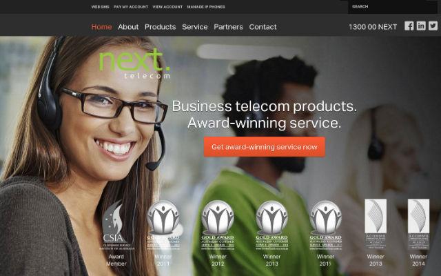 Next Telecom SEO work