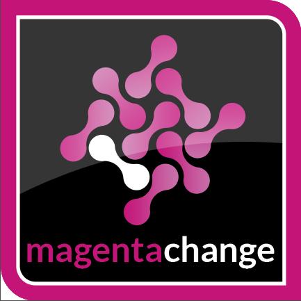 Magenta Change logo