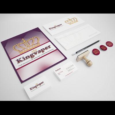 E-Juice E-cigarette Online Store Logo Design and Branding