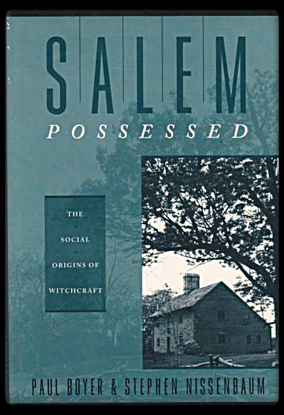 an analysis of the book salem possessed by paul boyer and stephen nissenbaum Drawing upon an impressive range of unpublished local sources, paul boyer and stephen nissenbaum provide a challenging new interpretation of the outbreak of witchcraft in salem village a major contribution to the social history of colonial new england sophisticated and imaginative.